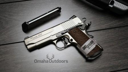 Gun Review: Sig Sauer 1911 Compact Nickel - Omaha Outdoors