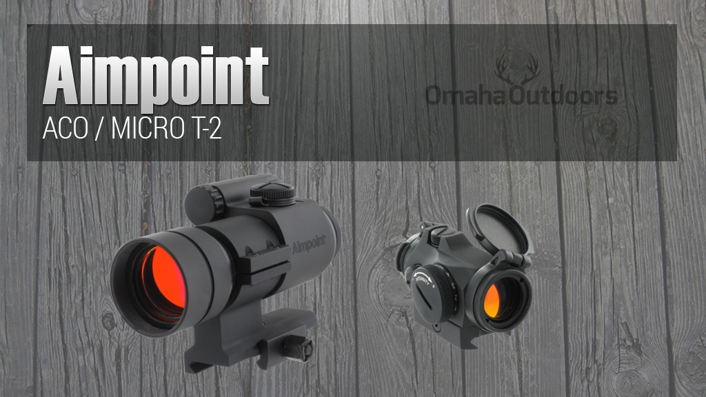 Aimpoint ACO / Micro T-2 SHOT Show 2015