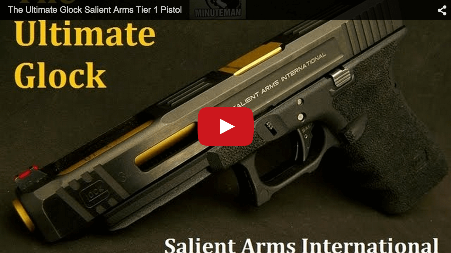 Salient Arms Glock 34 Tier 1 Review Video