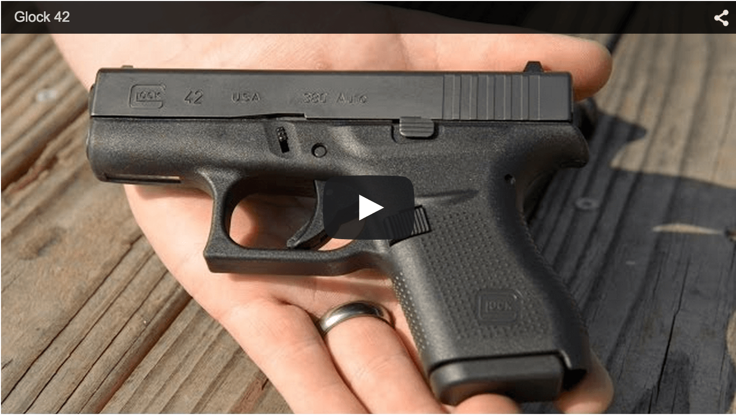Glock 42 Review Video