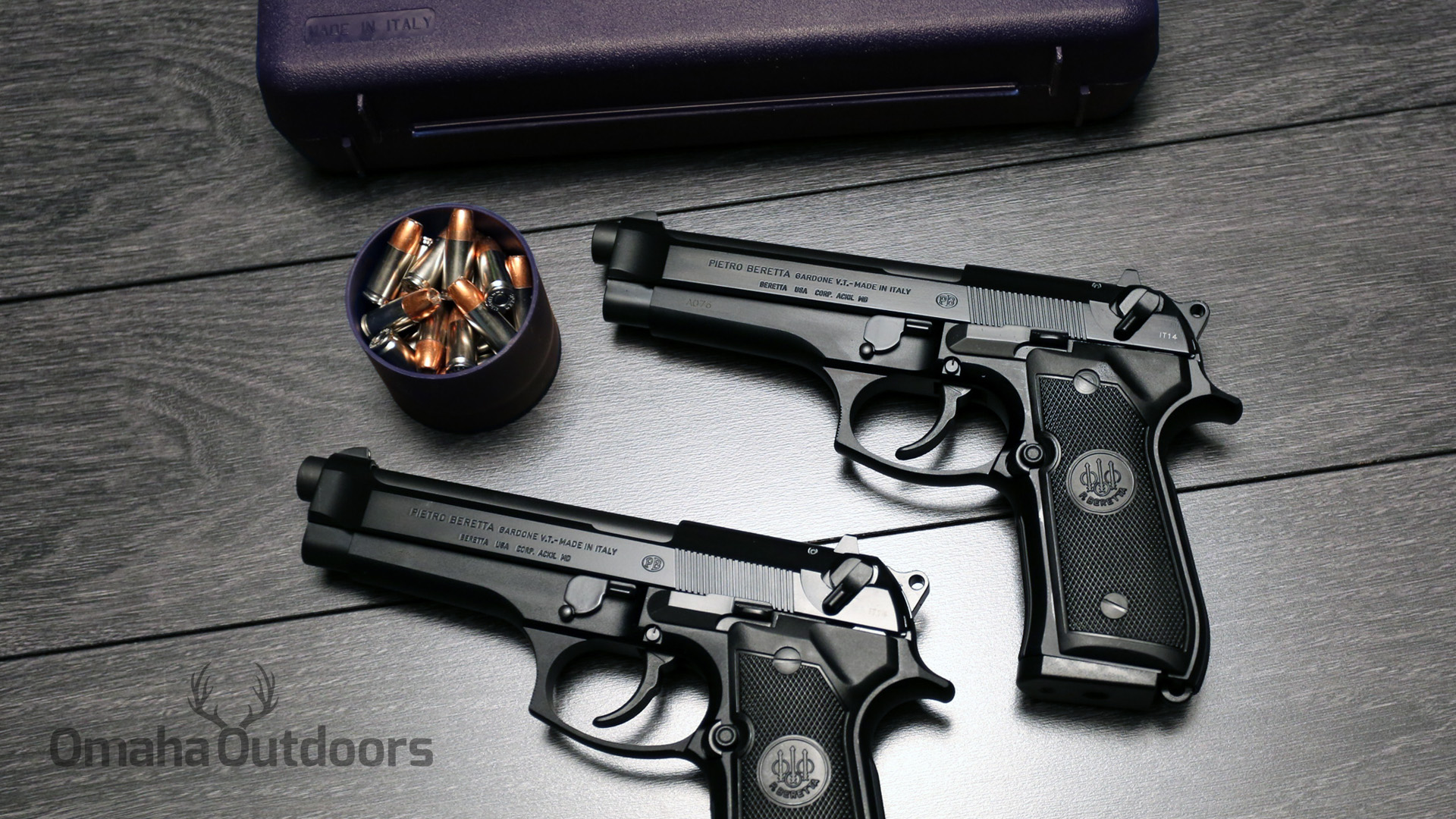 Gun Review: Beretta 92FS 9mm - The 30th Anniversary - Omaha