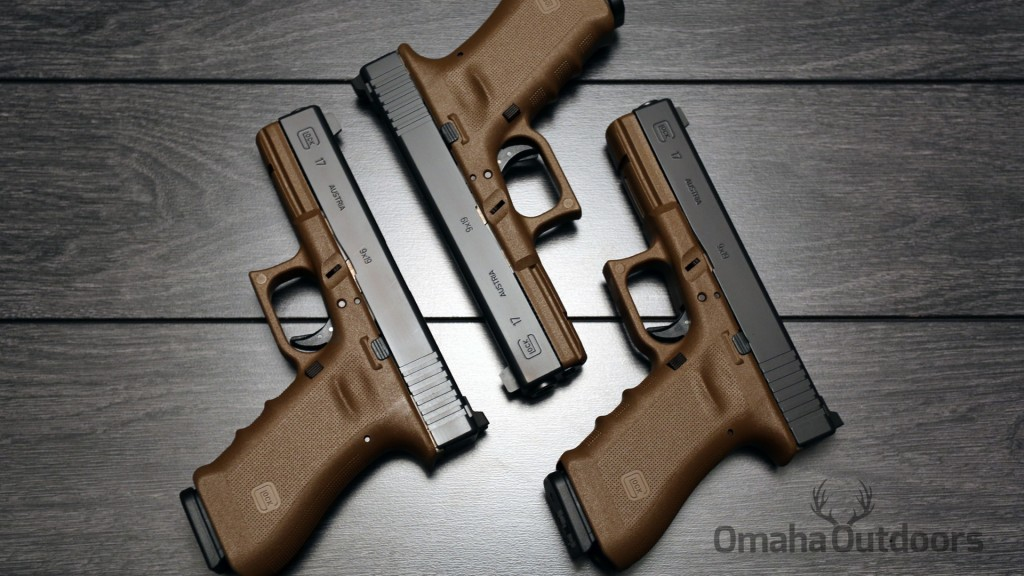 Glock 17 FDE RTF2 Larry Vickers Tactical