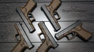 Glock 19 FDE RTF2 Larry Vickers