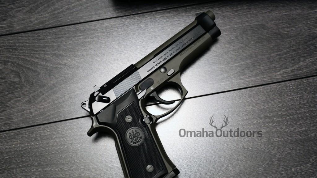 Beretta 92FS OD Green