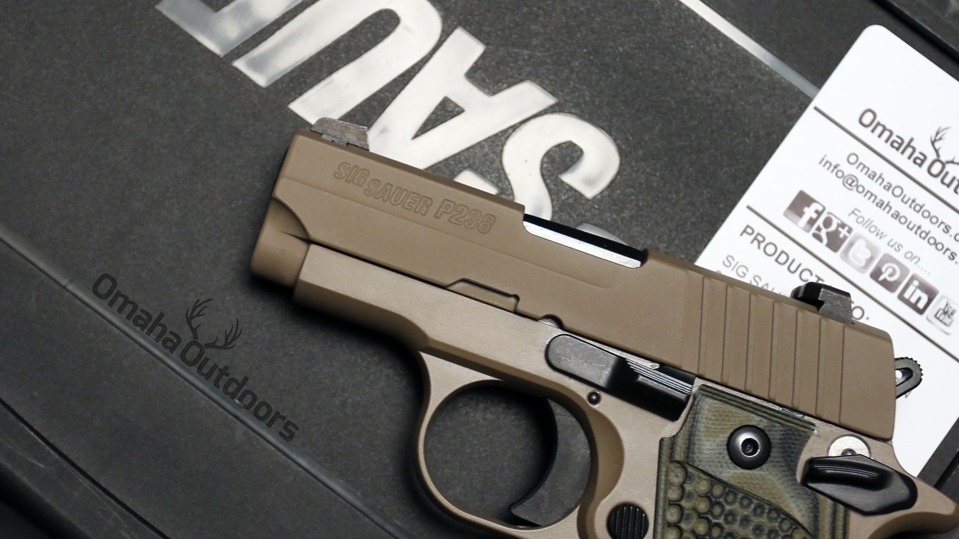 Gun Review: Sig Sauer P238 Scorpion - A Different Micro