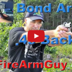 Bond Arms Backup .45 ACP - Ultimate Conceal Carry Derringer Video