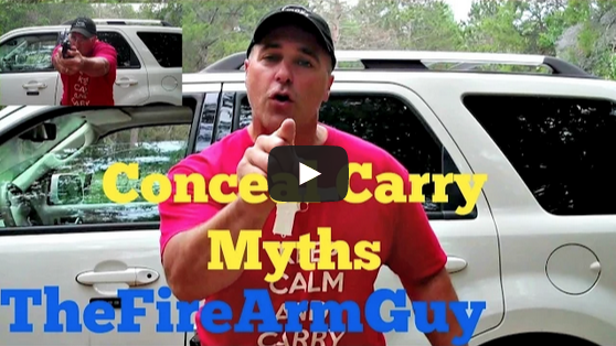 Six Concealed Carry Myths Video