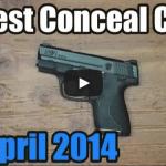 Best Conceal Carry Handgun Video