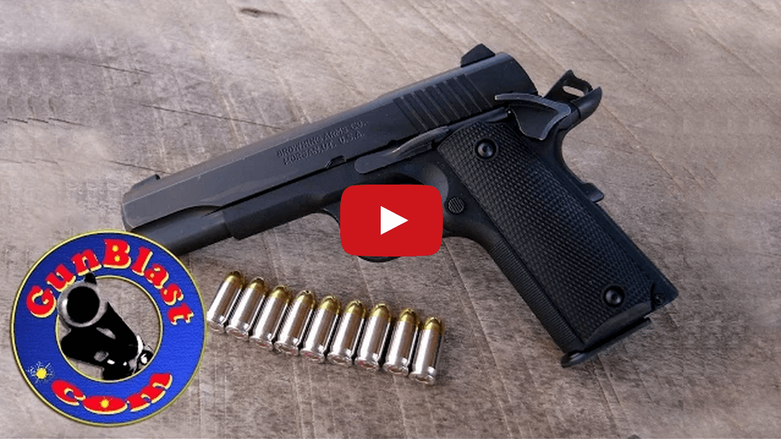 Browning 1911-380 Black Label 380 ACP Pistol Video