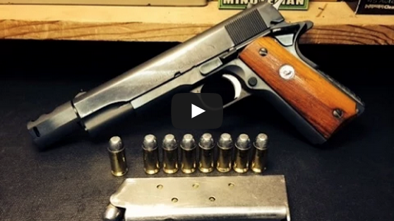 1911 Hand Cannon :The 460 Rowland Conversion Video