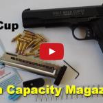 Colt 1911 Gold Cup 17 Round Magazine Upgrades Video