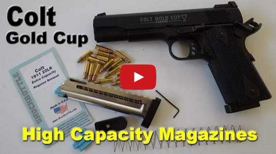 Colt 1911 Gold Cup 17 Round Magazine Upgrades Video
