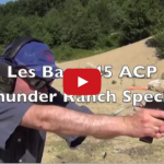 Les Baer 1911 Thunder Ranch - A Rockin' .45 ACP Video