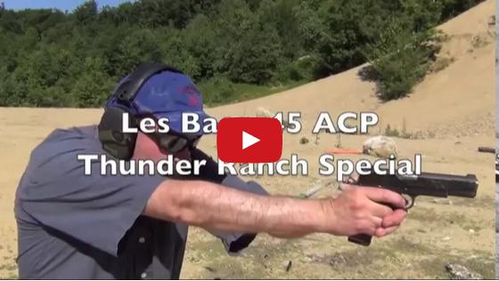 Les Baer 1911 Thunder Ranch - A Rockin' .45 ACP Video