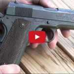 Colt Model of 1911 WW1 Era Service Pistol 45 ACP Video