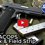 Sig Sauer 1911 TACOPS Unbox & Field Strip Video