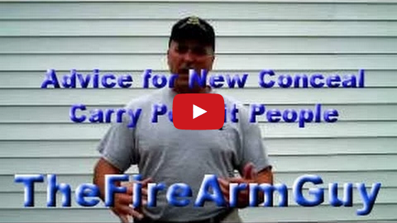 Advice for New Conceal Carry Permit Video