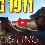 Sig 1911 Testing: Trench Warfare Drill by Nutnfancy Video
