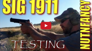 Sig 1911 Testing: Trench Warfare Drill by Nutnfancy Video