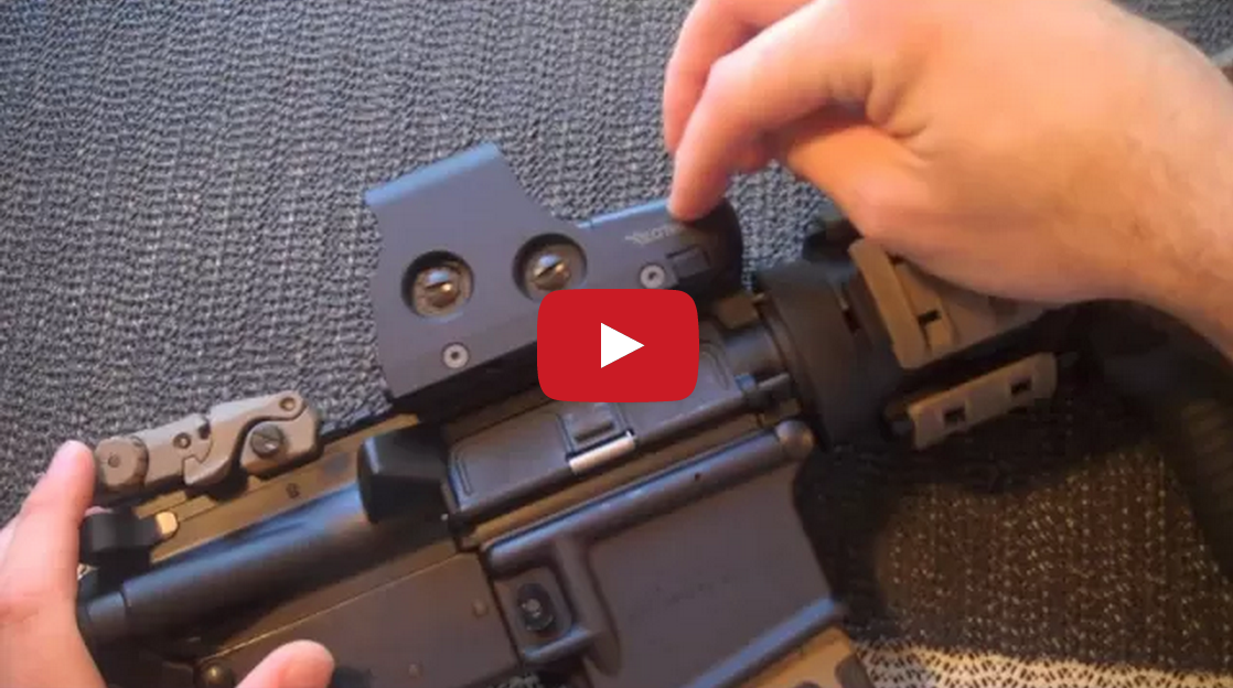 EOTech 551 Holographic Sight Review Video