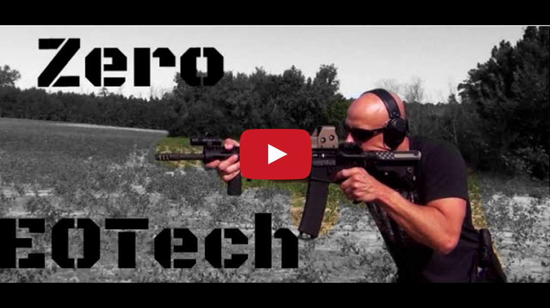 How To Zero An EOTech Holographic Sight (HD) Video
