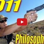 """1911 Handgun Philosophy of Use"" by Nutnfancy Video"