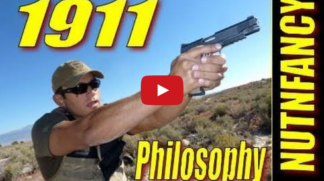 """1911 Handgun Philosophy of Use"" by Nutnfancy Video"
