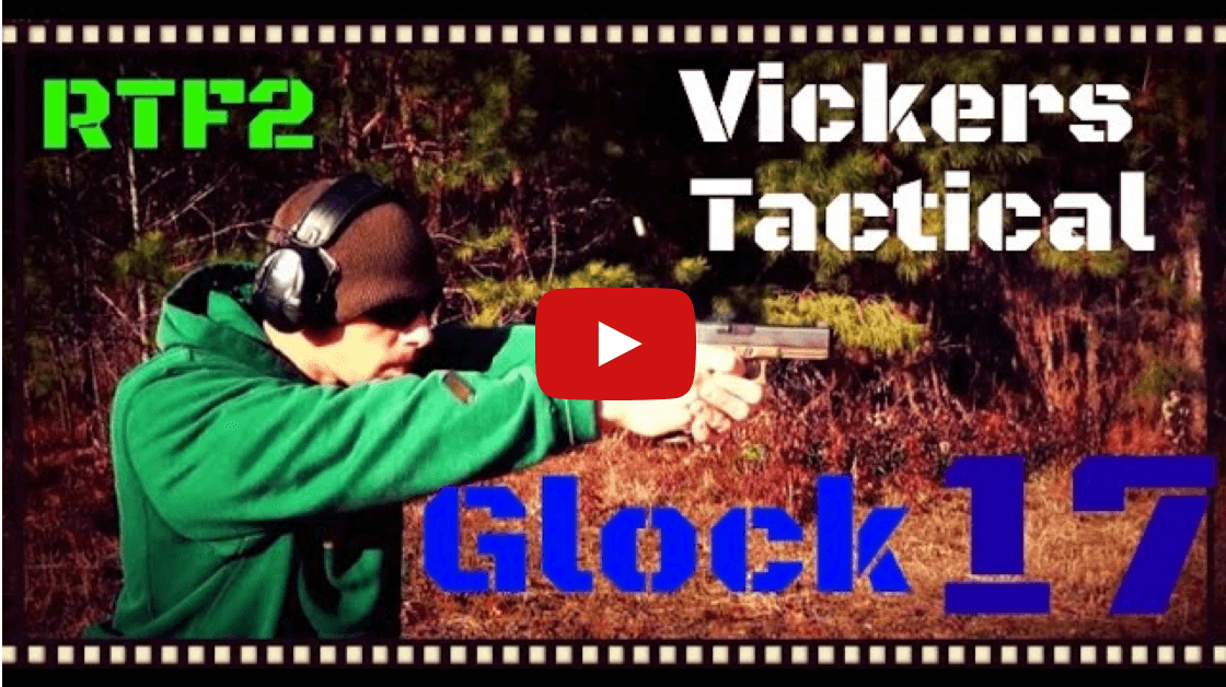 Vickers Tactical Glock 17 RTF2 FDE With Accessories Review Video