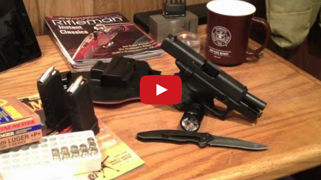 Conceal Carry - Why and What I Carry Video