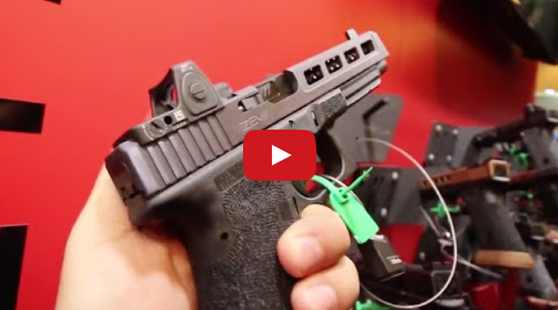 Custom Glocks by ZEV Technologies - Shot Show 2015 Video
