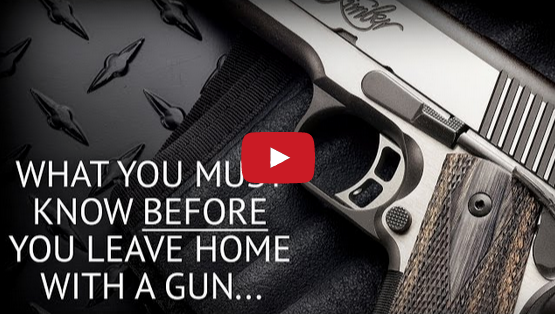 Concealed Carry Mistakes, Don'ts, and Blunders Video