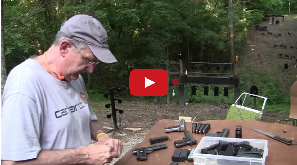Glock vs 1911 Video
