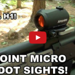 Aimpoint Micro Red Dot Sights - T1 & H1 Compared Video