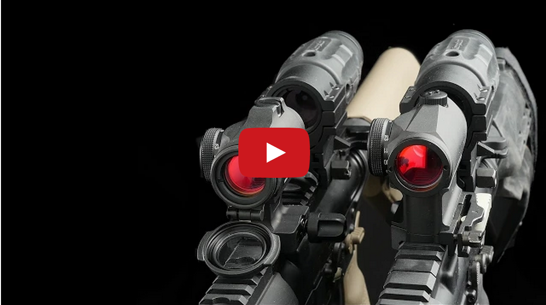 Aimpoint T-1 versus T-2 Comparison and Review Video