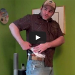 Carrying a Concealed Firearm Under Light Clothing Video
