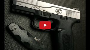 FN Herstal FNS-9 Pistol Review Video