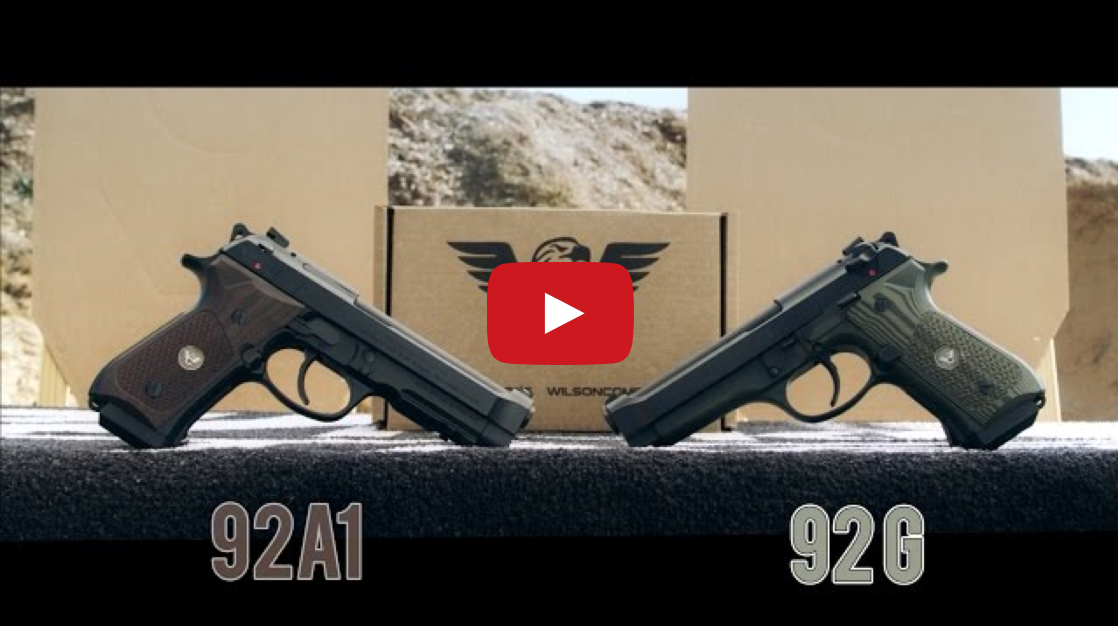 A Game of Horse With a Wilson Combat Beretta 92G and 92FS
