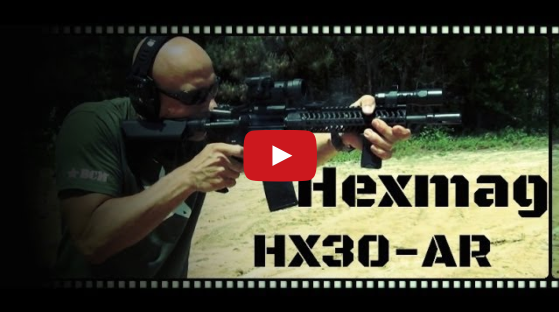 Hexmag HX30 AR-15 30 Round Magazine Test and Review
