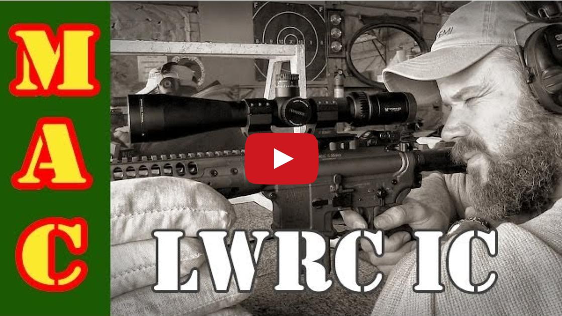 LWRC Individual Carbine With Adam Pini