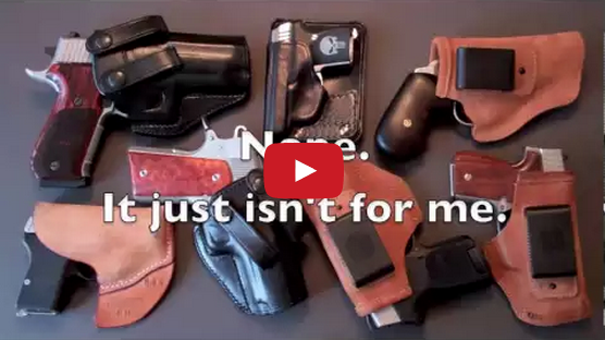 Concealed Carry: Guns, Holsters, Questions, & Answers Video