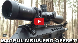 Magpul MBUS Pro Offset Backup Sights - Design That Works