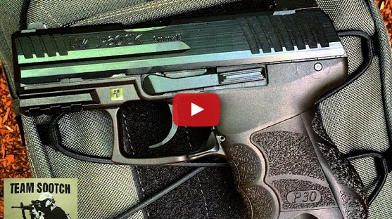 HK P30SK Sub Compact 9mm Pistol Review