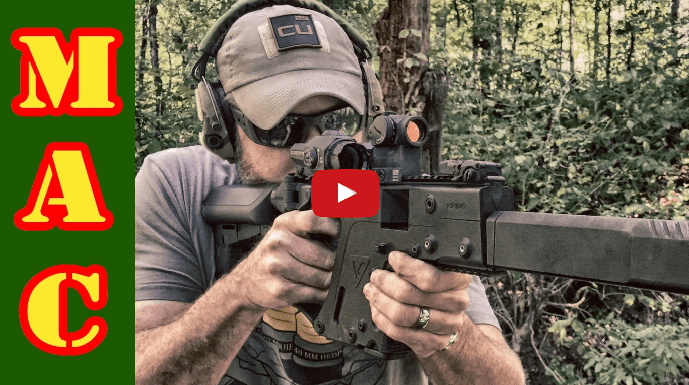 Military Arms Channel – First Look at Kriss Vector 10mm