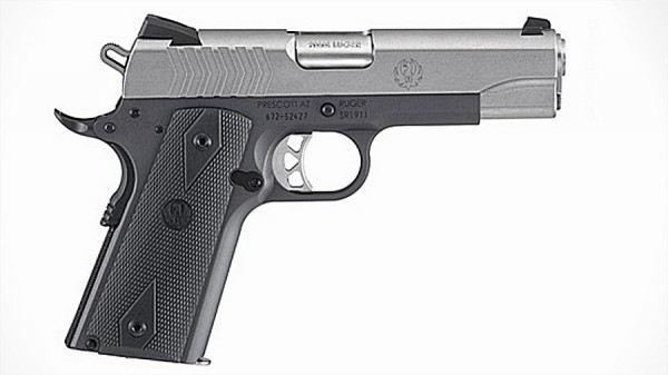 Ruger 1911 Lightweight Commander 9mm
