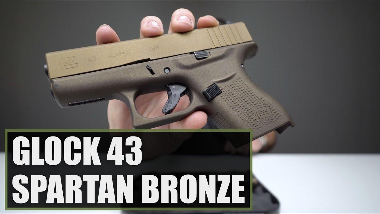 Unboxing The Glock 43 Spartan Bronze
