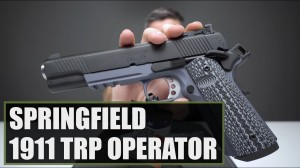 Unboxing The Springfield 1911 TRP Operator 45 ACP Gray