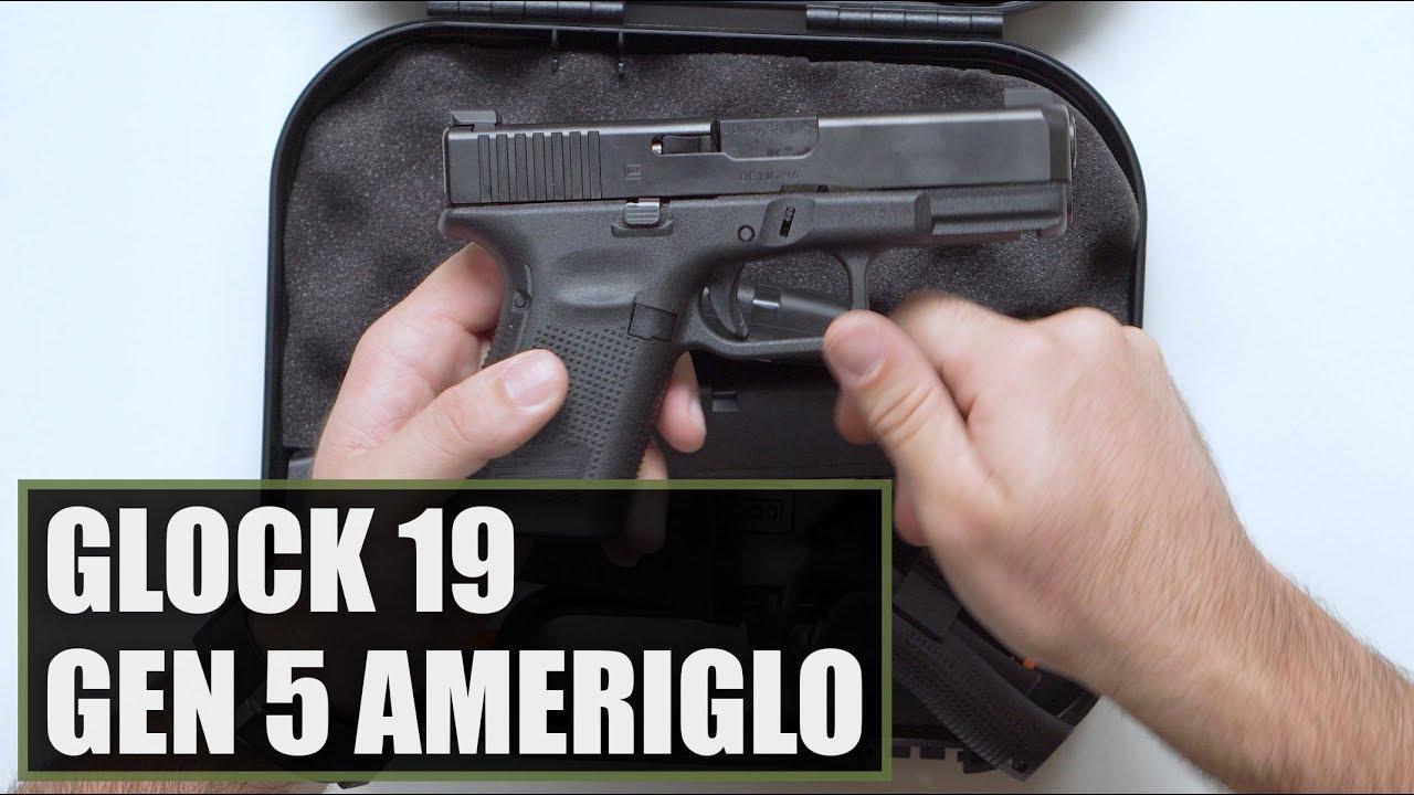 Unboxing the Glock 19 Gen 5 AmeriGlo Video