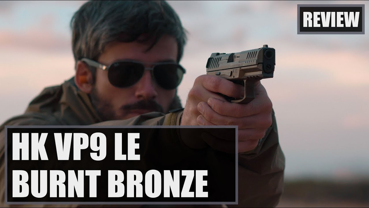 HK VP9 LE Burnt Bronze Review & Torture Test