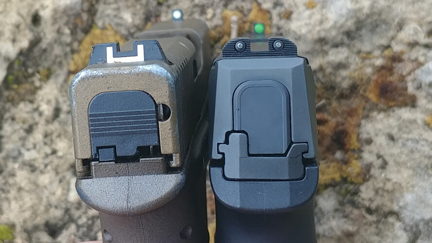 Sig Sauer P365 vs Glock 43 Pistol Review - Omaha Outdoors