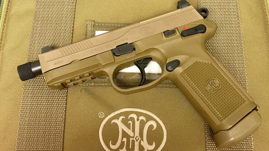 FNH FN-X 45 Tactical FDE